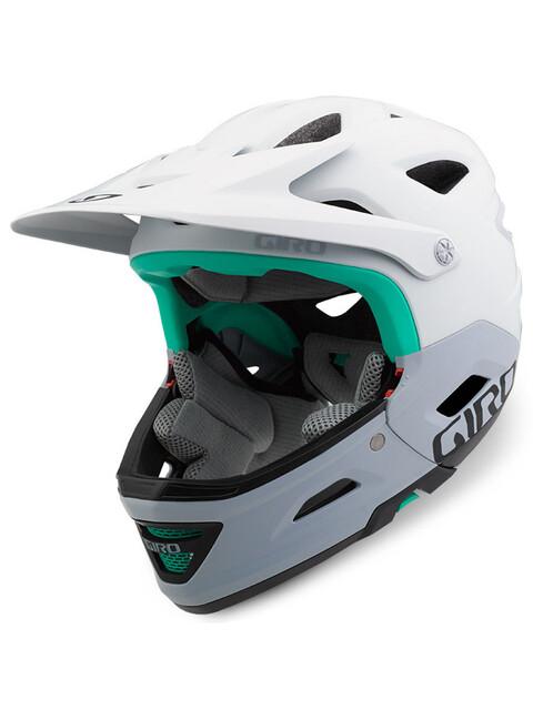 Giro Switchblade Mips Fullface Helmet mat white/grey